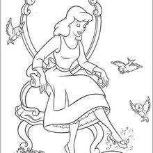 Cinderella Trying Her Slipper