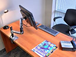 Monitor Arms Desk Mount by Ergotron Lx Tall Pole Desk Mount Lcd Monitor Arm