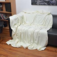 kuscheldecke wohndecke decke tagesdecke sofaüberwurf beige fleecedecke neu