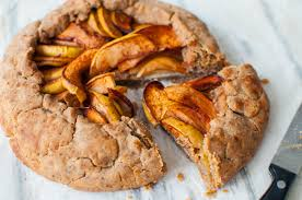 Clean Simple Apple Galette Recipe Which Is A Rustic Tart Requiring No Baking Skills Just Apples Spelt Flour And Spices