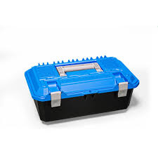100 Crossbox DECKED 17 In Drawer Tool Box In Blue And Black