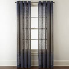 Sheer Curtain Panels With Grommets by Studio Delano Grommet Top Sheer Curtain Panel Jcpenney