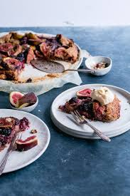 Fig Blackberry Hazelnut Rye Galette Fresh Figs And Berries Atop Frangipane With An Easy Pastry Crust Simple Rustic Jump To Recipe