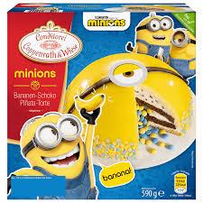 conditorei coppenrath wiese minions bananen schoko piñata
