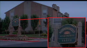 Just Noticed The Name Of Peter Gibbons Apartment Complex In Movie Office Space