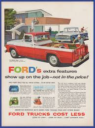 Vintage 1958 FORD Truck Short Stroke Six V-8 Automobile Print Ad ... 1960 Ford F100 Truck Restoration 7 Steps With Pictures My Little Urch And A 1958 That Has Always Been In Our For Sale Sold Youtube Barn Find Emergency Coe Sctshotrods Photo Gallery F 100 Custom Cab Flareside Pickup 83 This C800 Ramp Is The Stuff Dreams Are Made Of Bangshiftcom Take A Look At Fire T58 Anaheim 2014 Directory Index Trucks1958