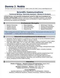Extra Curricular Activities In Resume Examples 4