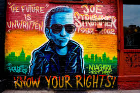 Joe Strummer Mural London Address by Joe Strummer Mural New York City 100 Images Ev Grieve The Joe