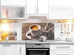 esg glasbild 4 mm spritzschutz motiv kaffeetasse