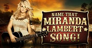 Bathroom Sink Miranda Lambert Writers by Name That Miranda Lambert Song Intelliquiz