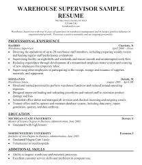 Resume Examples For A Project Manager With Data Warehouse Samples To Produce Awesome