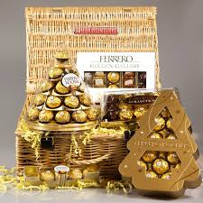 Ferrero Rocher Christmas Tree Diy by Ferrero Rocher Golden Gallery Luxury Christmas Hamper Cone