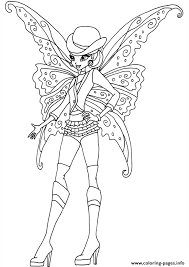 Gothic Stella Winx Club Coloring Pages Print Download 314 Prints