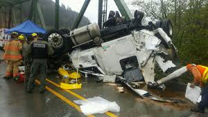 Truck Crash On Scottsburg Bridge Closes Highway 38   Local News ... Three Reasons Why Large Truck Crashes Are So Deadly Medical Waste From Truck Crash Spills Across I10 In Arizona Accident Editorial Stock Photo Image Of Cars 35369458 Wrecked Spectacular Palmerston Newshub Crazy Truck Crash Amazing Trucks Accident Best Trailer Crash Crushed To Death On Emirates Road The National Fatal Canterbury Rd Bankstown Daily Telegraph Crashes Dash Cam Compilation 2017 Accidents One Person Injured Tanker Pennies I95 Delaware 6abccom Image Metal Injury 36809733