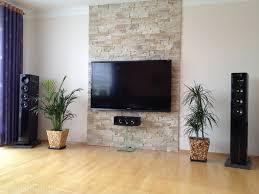 schones wohnzimmer design braun steinwand wohnzimmer braun