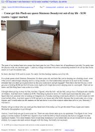 Beds For Sale Craigslist by Guy Who Got Cheated On Would Like You To Buy His