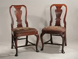 PAIR OF QUEEN ANNE / GEORGE I RED WALNUT SIDECHAIRS, C1715; M. Ford ... Antique Walnut Chairs Queen Anne 7 Ding Scotland Style Wing Chair Frame English Pair Of Mahogany Crook Armchairs Century Rocking For Master Small Armless Bean Seat Replacement And Painted Finish Style Carver Chair Dark Blue Shabby Chic Rustic Fniture Room Design What Is How Do You Spot It Splat Back W Cream Loveseat Edwardian Mahogany Desk Hingstons Antiques Dealers Legs Set Desk