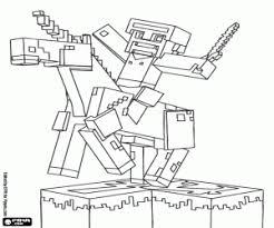 The Warrior And UnicornMinecraft