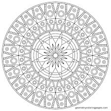 Coloring On Free Pages Adult Book Printable Christmas Mandala For Adults