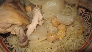 cuisine maghrebine rechta sauce blanche cuisine algerienne