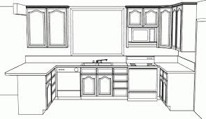 Sensational Simple Kitchen Drawing 0 on Other Design Ideas with HD