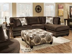Groovy Chocolate Sectional – Adams Furniture