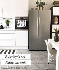 think big unser neuer side by side kühlschrank