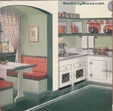 White And Green 1940s Kitchen I Love The Color Scheme Of This Lots