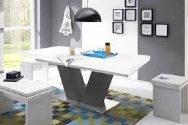 esstisch komfort d mit v gestell in graphit und mit auszugsfunktion breite 180 280 cm