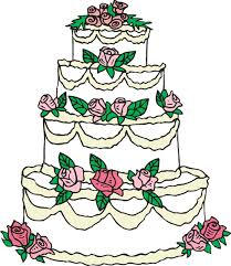 Red Wedding Cake index clipart