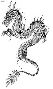 Festivals Coloring Pages Chinese Dragon Year Page Book