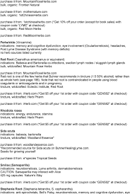 Extrait Du Forum Mélodie : Protocole Anti-lyme De Buhner ... Sales Deals 30 Off Mountainroseherbscom Coupons Promo Codes January Amazoncom Genesis Salt Truffle Grocery Gourmet Food Recommended Suppliers Affiliates Other Links The Nova Extra 15 Mountain Rose Herbs Coupon Verified 26 Mins Ago Museum Of Natural History Parking Coupon Infinite Tan And 25 Diffuser World Top 20 Royalkartin Code Jan20 Codes For Volaris Football Tips Uk Ibex Allegra D Printable Coupons Bulkapothecary Hashtag On Twitter Blessed Herbs Free Shipping Jessem Tool Code