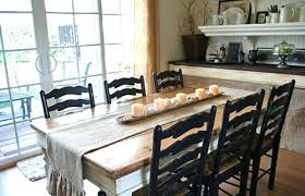 Brilliant Farm House Dinning Room Pics Farmhouse Dining Table Plans Within Ro Tables