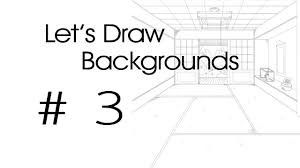 One Point Perspective Drawing Examples How To Bedroom Bathroom Kitchen View Draw Step By The Helpful