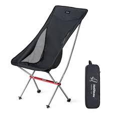 Leegoal Naturehike Portable Foldable Chair Camping Hiking Fishing Chair  Gardening Chair Deck Chair