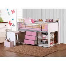 White Low Loft Bed With Desk by Desks Low Loft Bed With Desk Full Size Loft Beds With Desk Full
