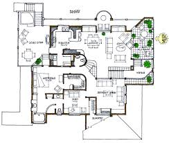 Harmonious Mountain Style House Plans by Rustic Green Home Solar Home Efficient Modern House Plan