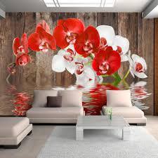 vlies fototapete blumen orchidee weiß tapete schlafzimmer