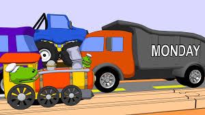 Learn Days Of The Week With Trains & Trucks - YouTube Toy Box Garbage Truck Toys For Kids Youtube Abc Alphabet Fun Game For Preschool Toddler Fire Learn English Abcs Trucks Videos Children L Picking Up Colorful Trash Titu Vector Vehicle Transportation I Ambulance Stock Cartoon Video Car Song Babies Nursery Rhymes By Simsam Specials And Songs Phonics