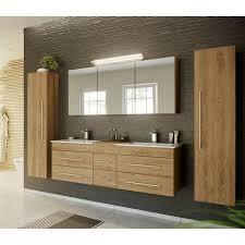 badezimmer hochschrank mit 6 fächern newland 02 eiche hell b x h x t ca 35 x 150 x 30 cm