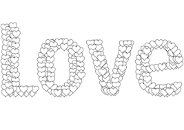 Click To See Printable Version Of Love Coloring Page
