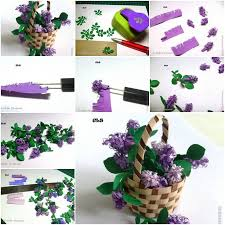 How To Make Paper Craft Flowers Step By