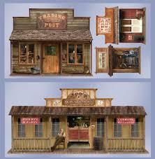 Halloween Scene Setters Canada by 5 U0027 Wild West Town Props Wall Add Ons Buycostumes Com