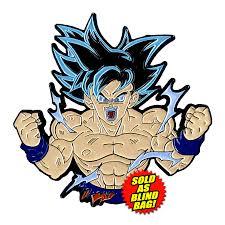 Ultra Instinct Goku Enamel Pin