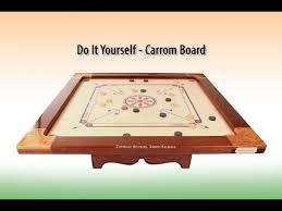 DIY Carrom Board How To Make Carroms Making