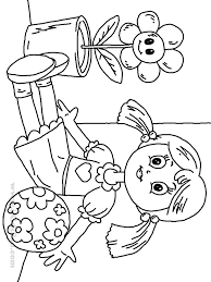 Doll Coloring Pages Free Printable Dolls Book For Kids Online