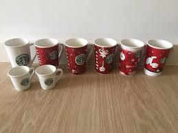 8 Rare Starbucks Mugs