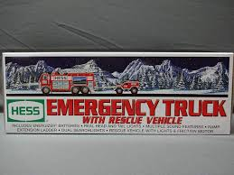 Amazon.com: Hess 2005 Emergency Truck With Rescue Vehicle: Toys & Games