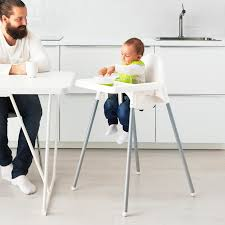 Highchair With Tray ANTILOP Silver-colour White, Silver-colour Iktilopghchairreviewweaningwithtraycushion Highchair With Tray Antilop Light Blue Silvercolour Baby Hacks Ikea Antilop High Chair 9mas Easymat On Ikea High Chair Babies Kids Nursing Feeding Carousell Cushion Cushion Only White Price In Singapore Outletsg Ikea Price Ruced Baby