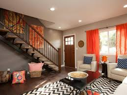 Gorgeous Orange Living Room Curtains Decorating With Burnt For Tips To Cleaning